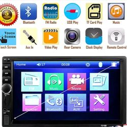 DVD double din deck