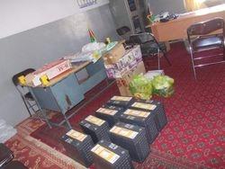 Solar equipment at Madrasa