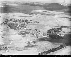 Early vies Canberra Plain