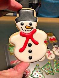 Snowman Cookie!