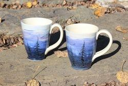 Silhouette Mugs