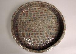 Ceramic pet water bowl