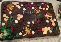 ODA Christmas Cake!