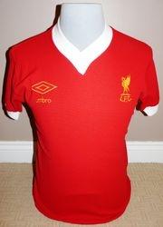 Liverpool Umbro Match Worn 1977 Football Shirt