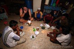 Dinner in Kampung Baru