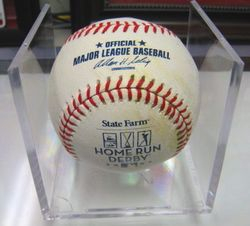 Albert Pujols 2007 All Star Home Run Derby Used Ball