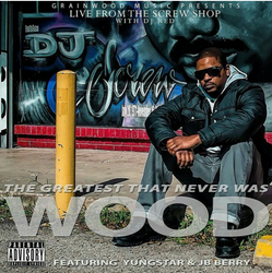 Hip-Hop Artist Wood of The Screwed Up Click, Houston, TX