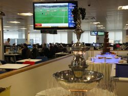 Beverage fountain and Chocolate fountain package at Sky Bet Leeds