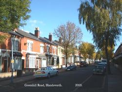 Greenhill Road, Handsworth. 2003.