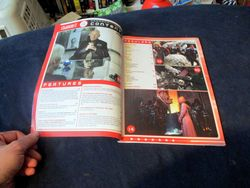 Page Spread with Table of Contents in Starburst Magazine #468: 2020 Preview Issue Collectors? Edition
