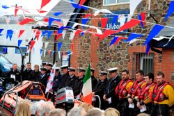 Wicklow RNLI D class lifeboat named Dennis-Audrey to fulfil couple's dream