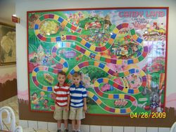 The GKTW Candy land game!