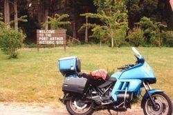 Visiting Port Arthur during the 1996 AGM Hobart - Mar 1996