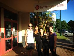 Byron Yoga Centre - Teacher graduates