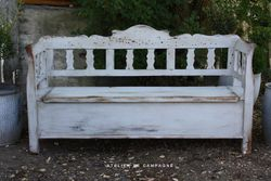 #20/008 Wooden Hungarian Bench
