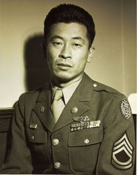 Japanese American in service in WWII: