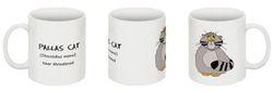 Pallas Cat mug