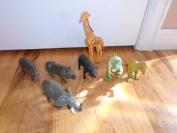 Grab Bag- Large Plastic Animals - $5