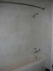 After:almond white marble