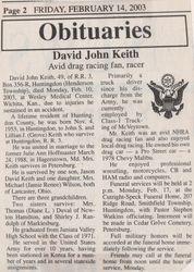 Keith, David John 2003