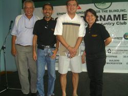 Bro Rio, Bro Rolan, & Sis Mayette with Alex Santos