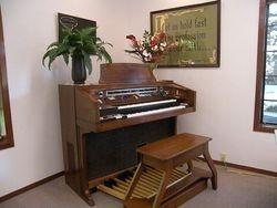 Organ in Meeting Room/Chapel