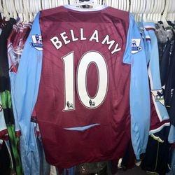 Craig Bellamy 2008/09 home shirt.