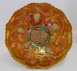 """Vintage 9"""" plate - amethyst rare"""