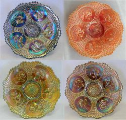 "Horsehead Medallion 7"" plates"