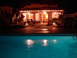 Villa Rossi At Night