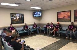 UMC ICU waiting room 1