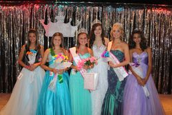 2012 Miss Teen Shelby Gilkerson and Miss Teen Princess Faith Dailey