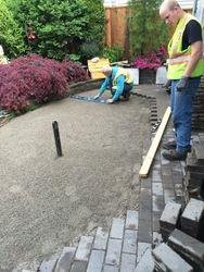 Patio repair work & Drainage repair