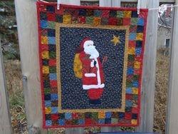 Santa Star Quilt