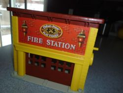 Vintage 1979 Fisher Price Fire Station #928 - $25