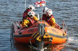 Wexford Crew Training With New Lifejackets