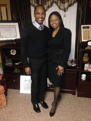 Pastor Bell w/ Min. Talley (BWC)