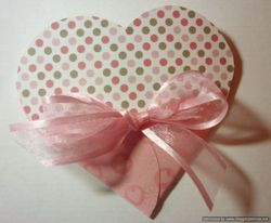 Free Heart Pouch Template