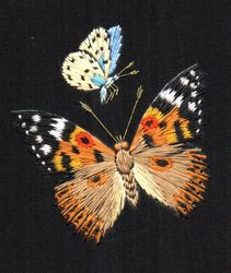 Painted Lady and Holly Blue