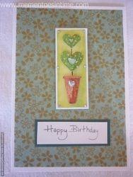 Birthday Topiary Card