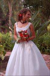 A spunky bride