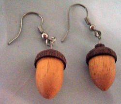 Acorn Earrings are back!
