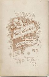 Wasson & Sweney of Wellsville, NY - back