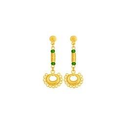 Aretes precolombinos largos - Dangling precolumbian earrings