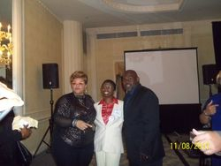 Tameila and David Mann in DC