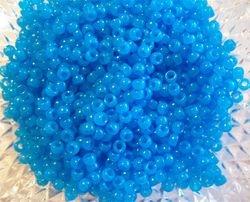 Mini Turquoise Pony  Beads