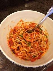 Spiral Veggie Noodle Dinner