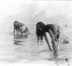 A woman in the Ocean ( uni no onna ) IV