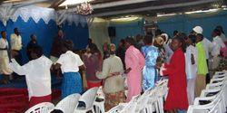 Congregation at Word Celebration Center