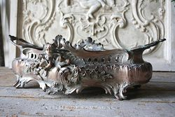 SOLD  #21/284 Table Jardiniere with Cherub